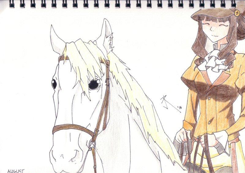 Horse Rider - August 2014