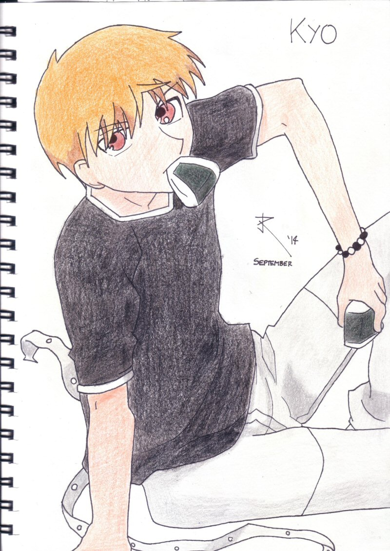 Kyo Sohma - September 2014